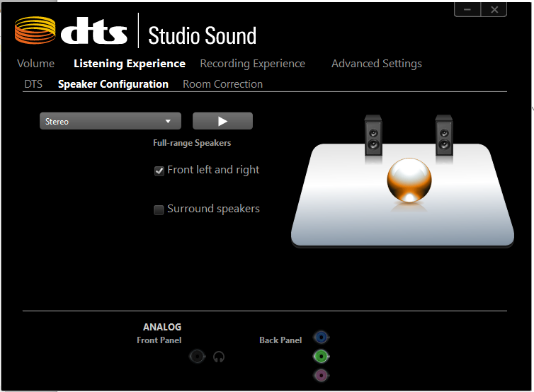 Dts sound drivers