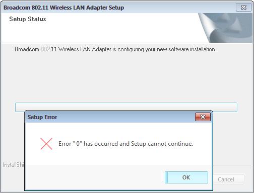 Broadcom Network Adapter WLAN Windows Vista 32-BIT