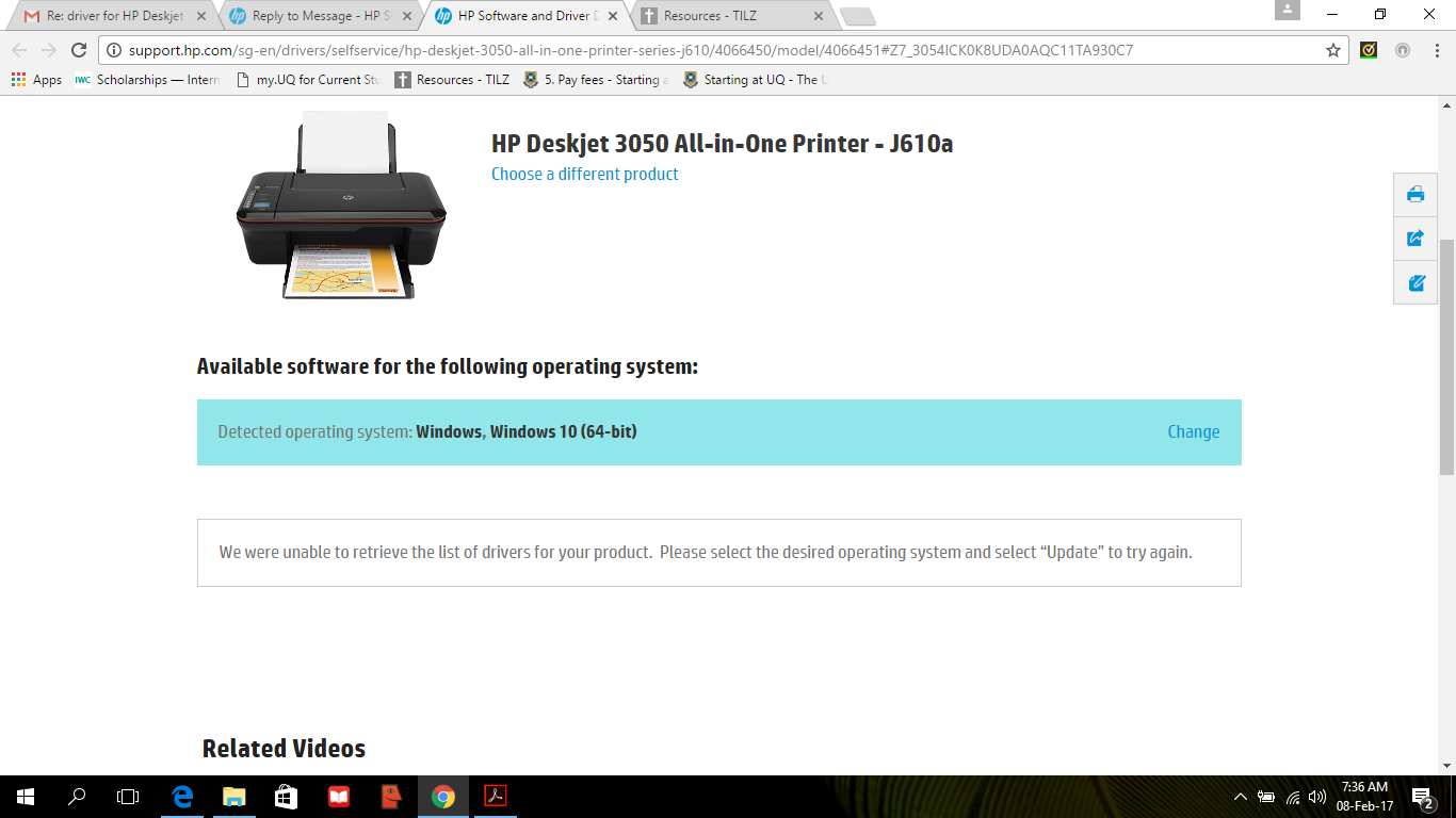 software stampante hp deskjet 3050