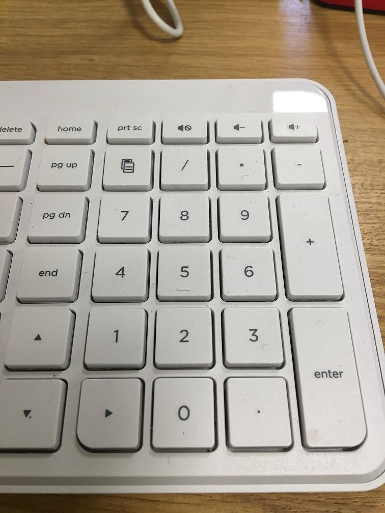 my numlock numbers do not work on standard hp desktop keyboa hp