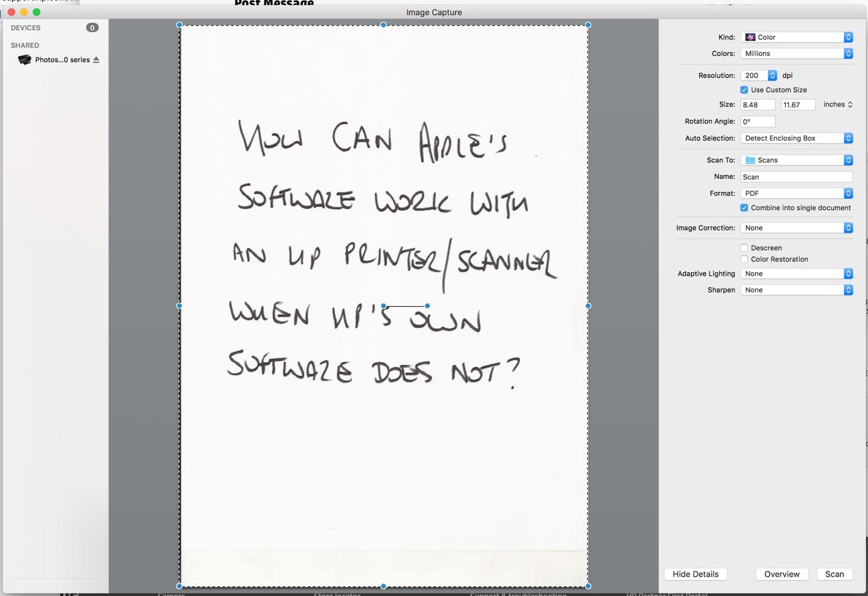 Hp Easy Scan Mac Sierra