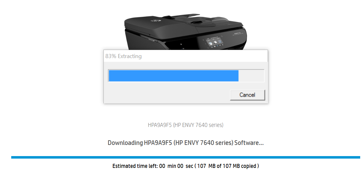 hp envy 7640 drivers download