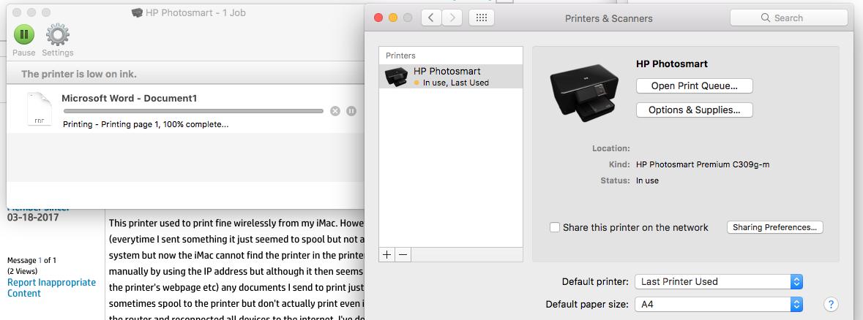 photosmart premium c309g-m software