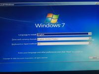Installing fresh Windows 7 on HP all in one from USB - HP