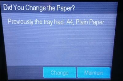 Did you change the paper.JPG