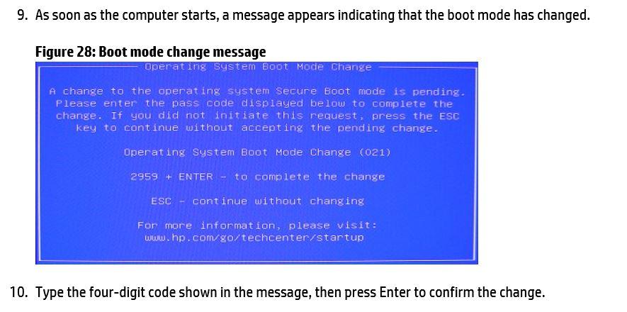 Boot mode change message.JPG
