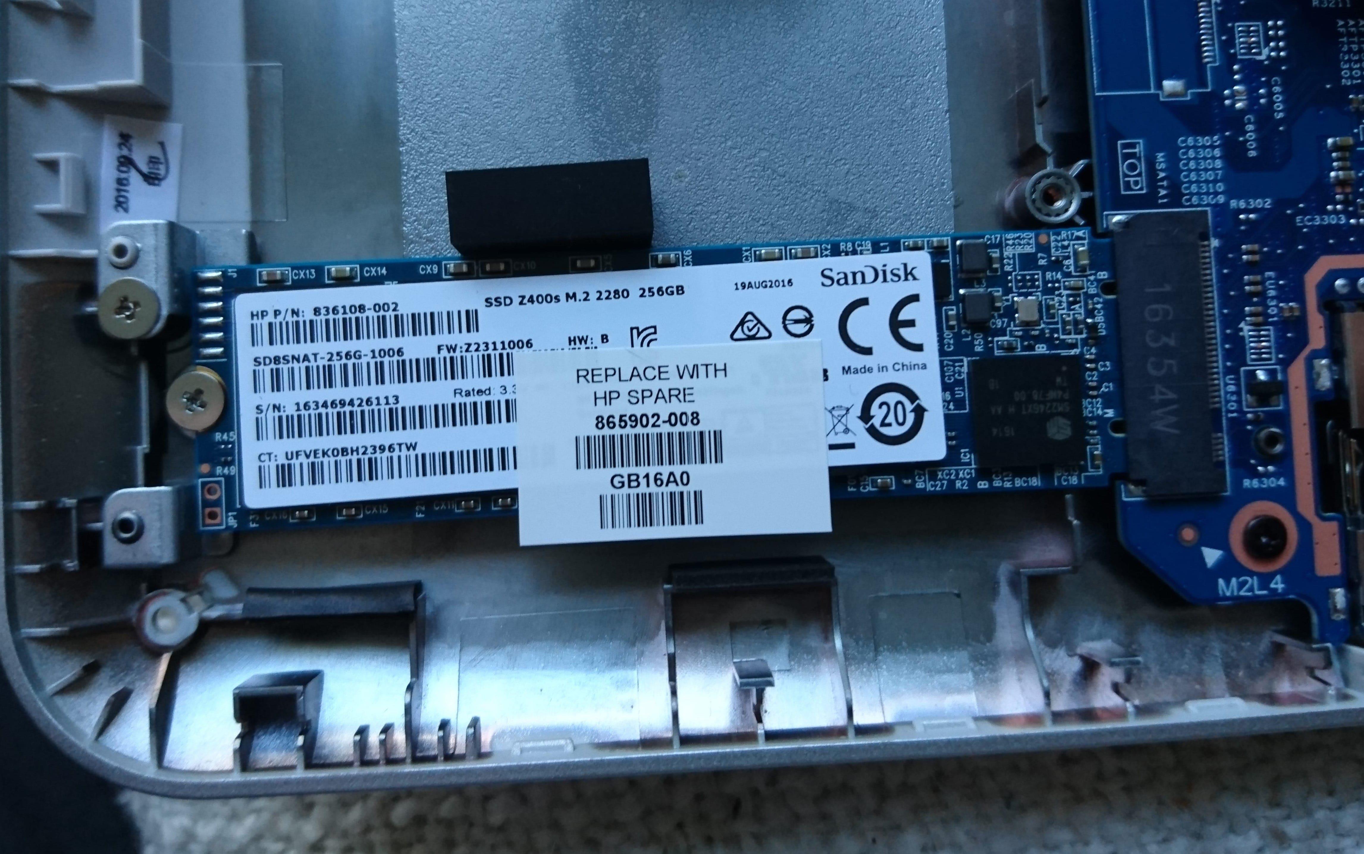 Solved: Pavilion X360 13-u101na ssd upgrade m2 sata or m2 pcie? - HP
