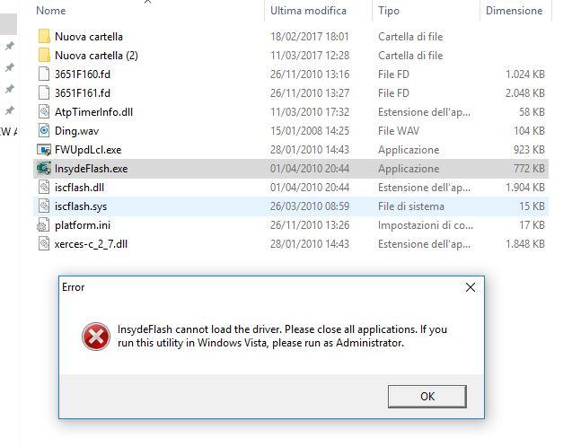 Insydeflash windows bios flash utility download