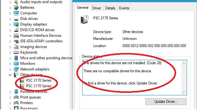 vpsx printer driver management download