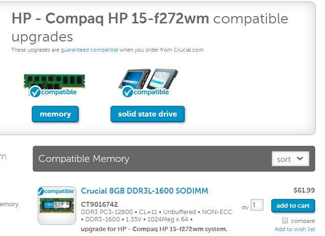 Solved: regarding HP 15-f272wm RAM - HP Support Community
