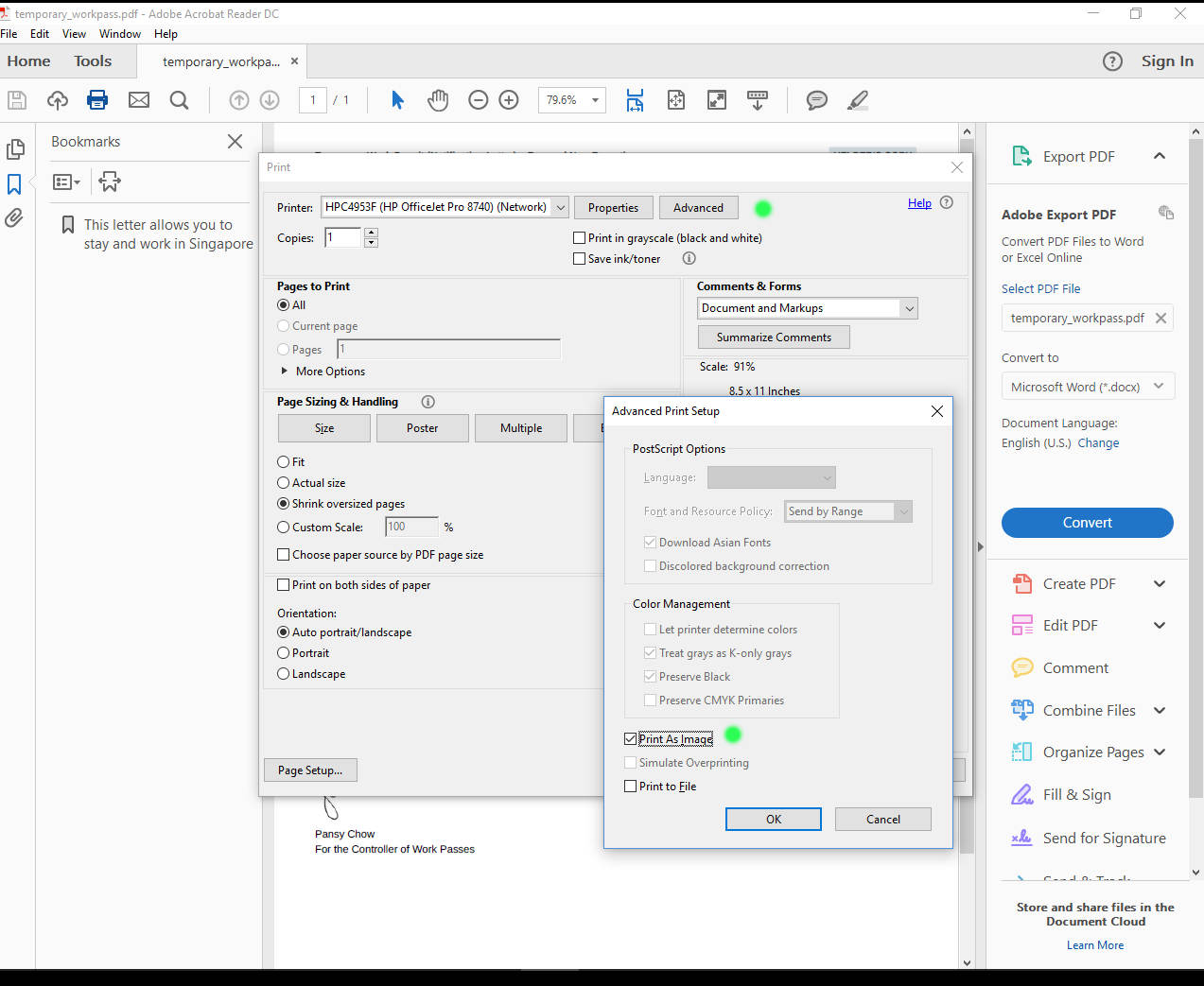 Solved: PDF not printing to scale - HP Support Community