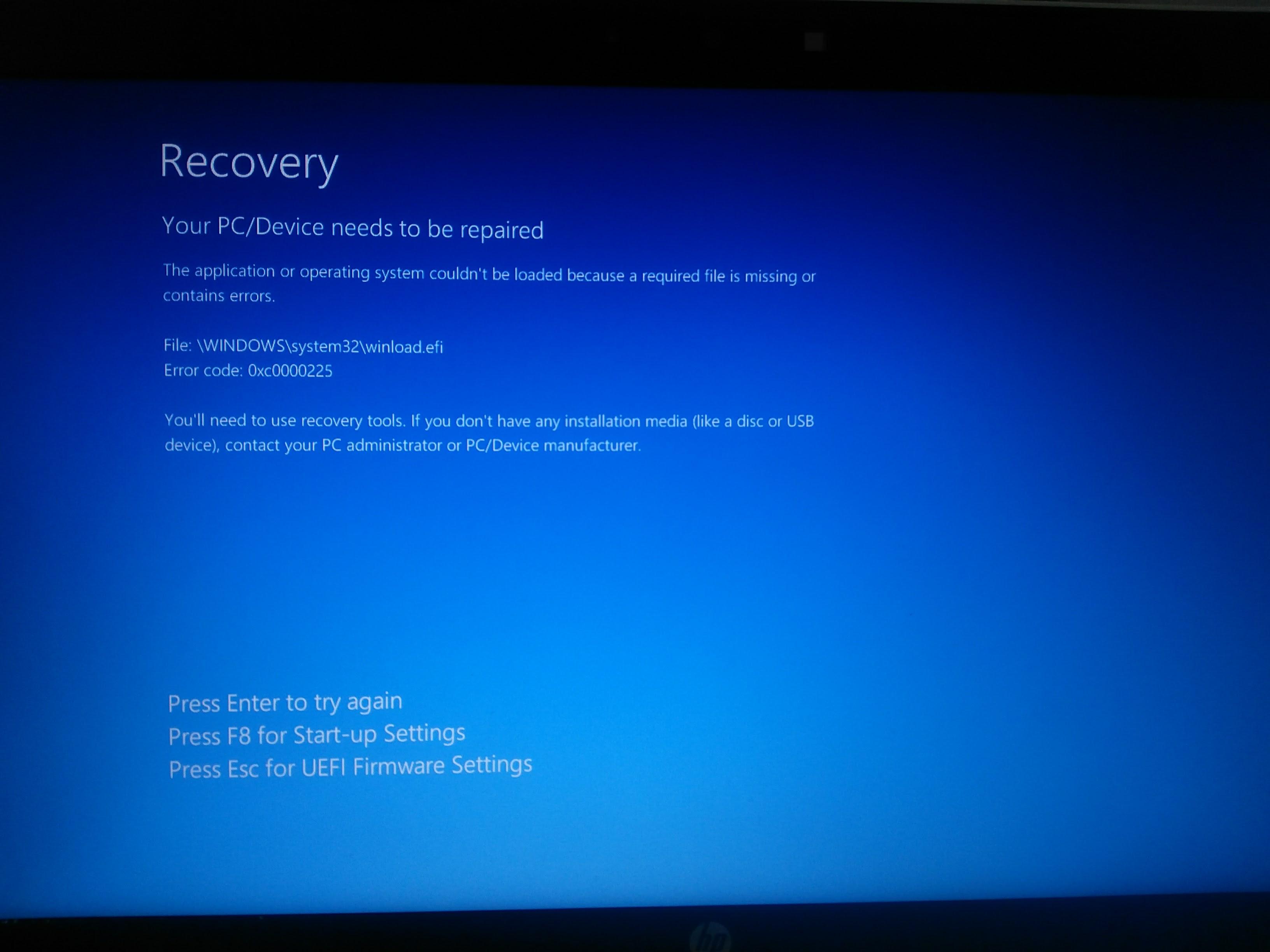 HP ENVY x2 CTO 11t-g000 UEFI Driver for Windows