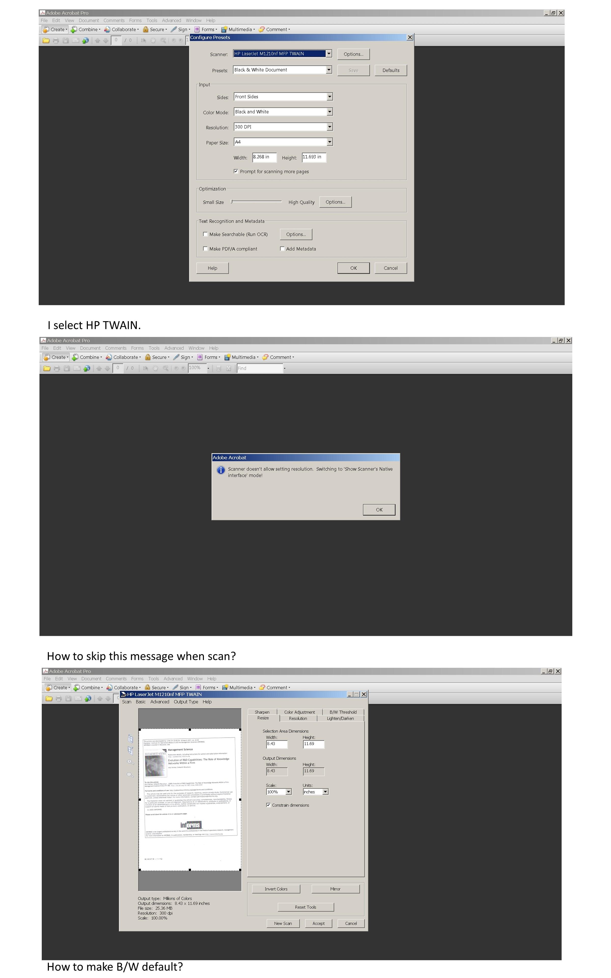 HP LaserJet Pro M1212nf Printer Driver Problem - HP Support Community -  6067910