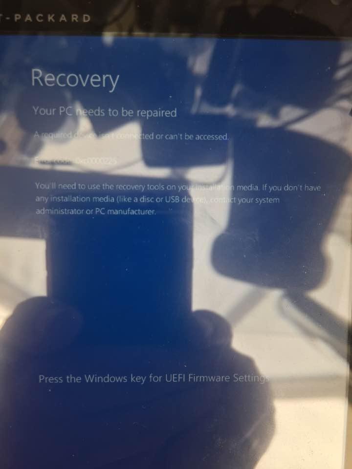 Windows 10 fresh installation on the HP Stream tablet - HP
