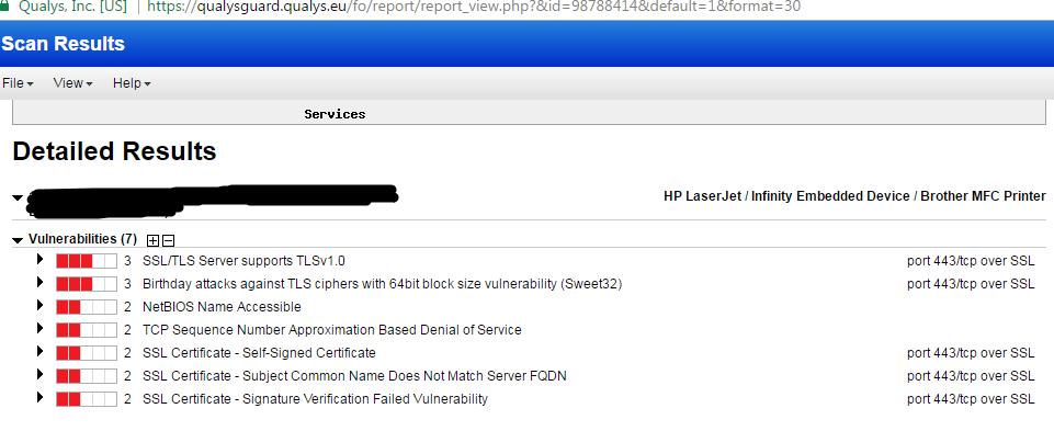 Disable TLS 1 0 , SSLv2 and SSLv3 - HP Support Community