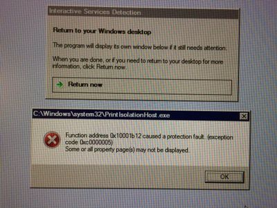 In Random Time The Problem Is That Printer In Remote Desktop Dose Not Exit And User Can Not Print