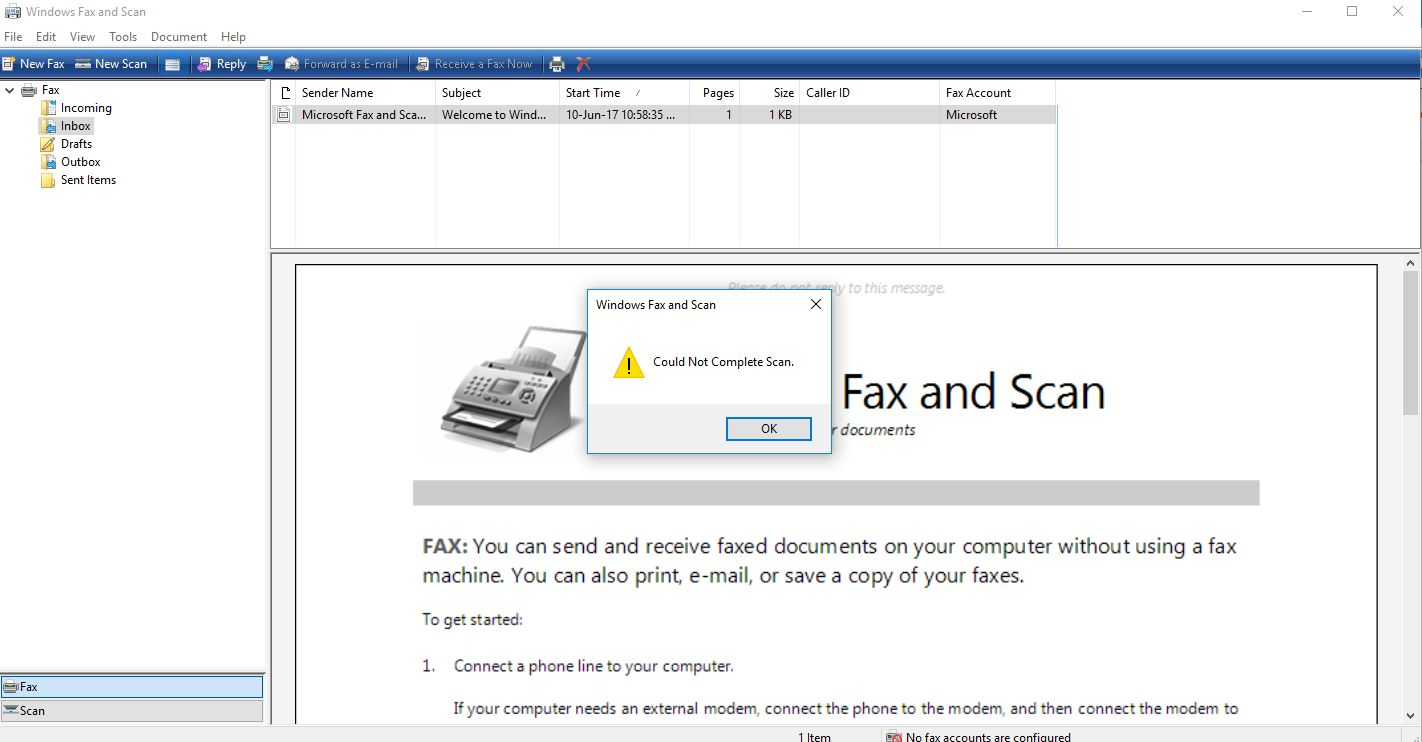 Scanner communication cannot be established  - HP Support