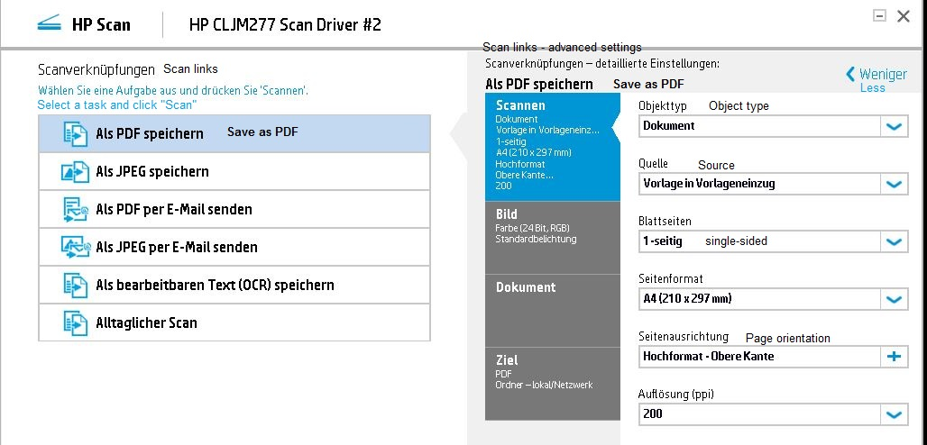 How to scan multiple pages into a single  pdf file - HP