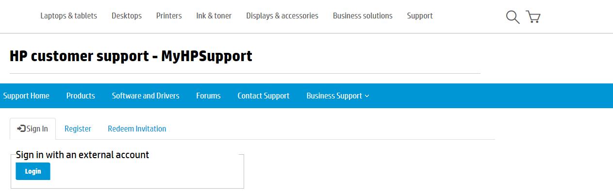 HP Passport account problem - HP Support Community - 6175129