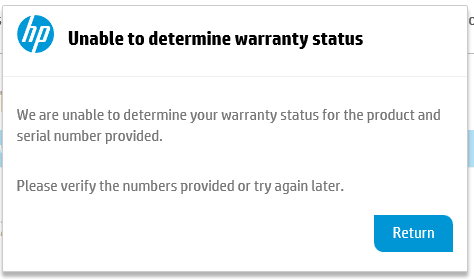 How to submit warranty claim - HP Support Community - 6180496