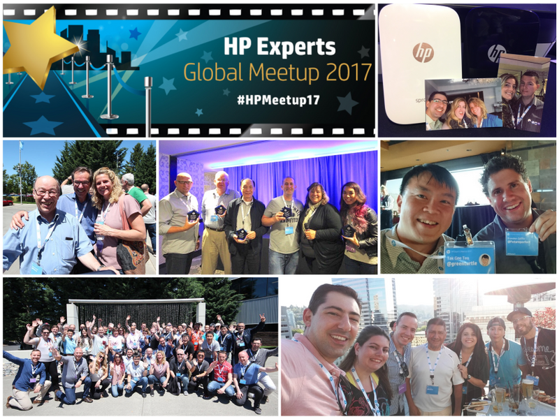 Rolling out the red carpet for HP Experts at #HPMeetup17