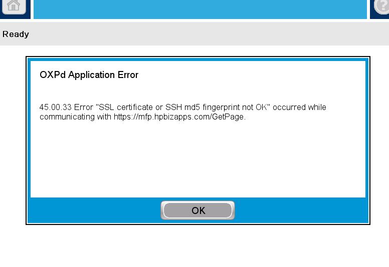 Jetadvantage doesn\'t work/ SSL certificate? - HP Support Forum - 6203245