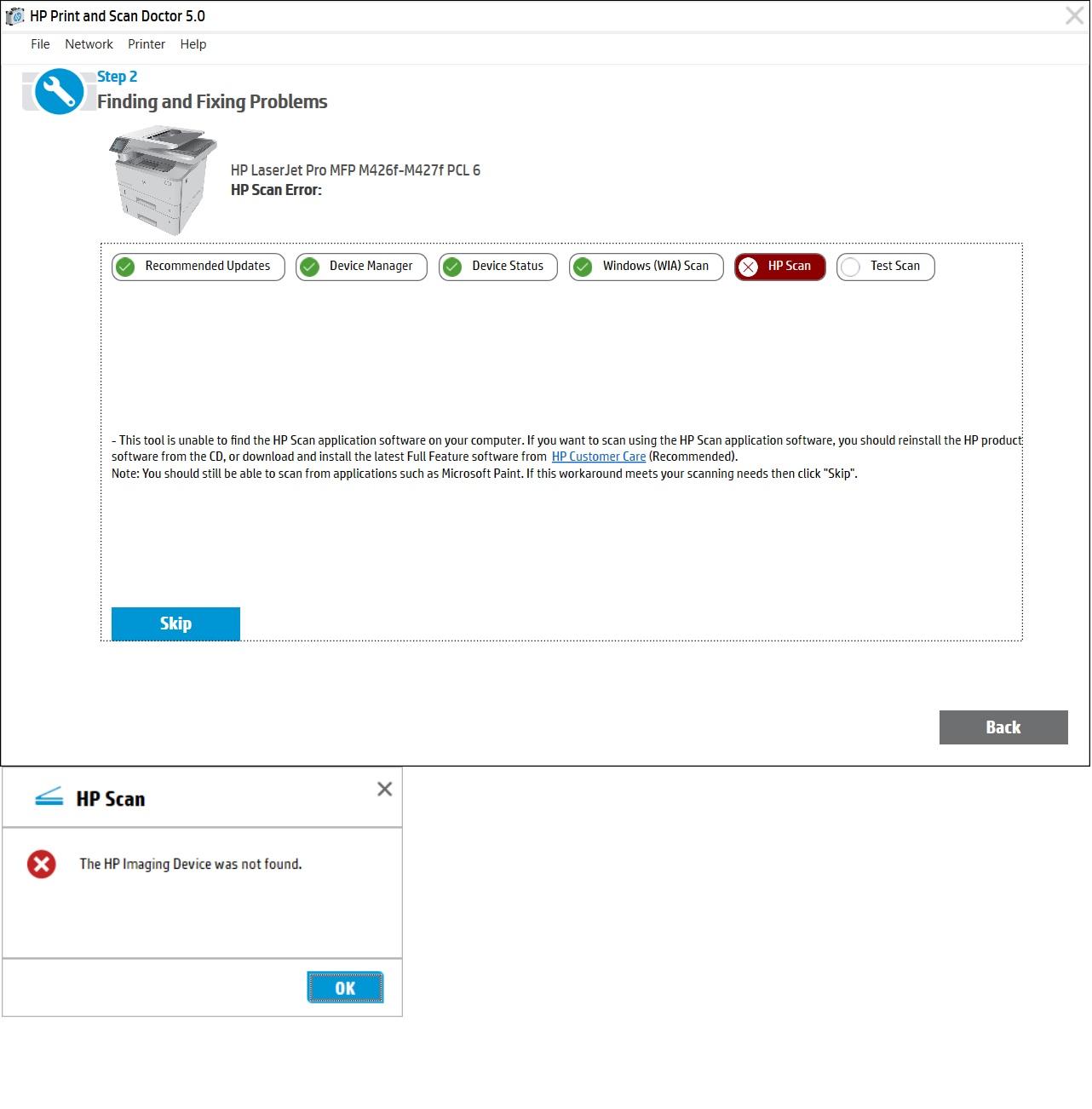 Hp scan software download