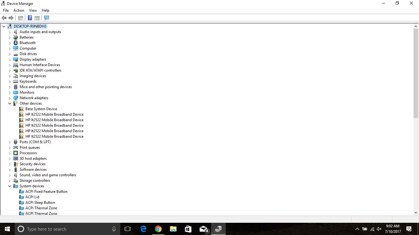 Missing Drivers (HP EliteBook 2170p) - HP Support Community