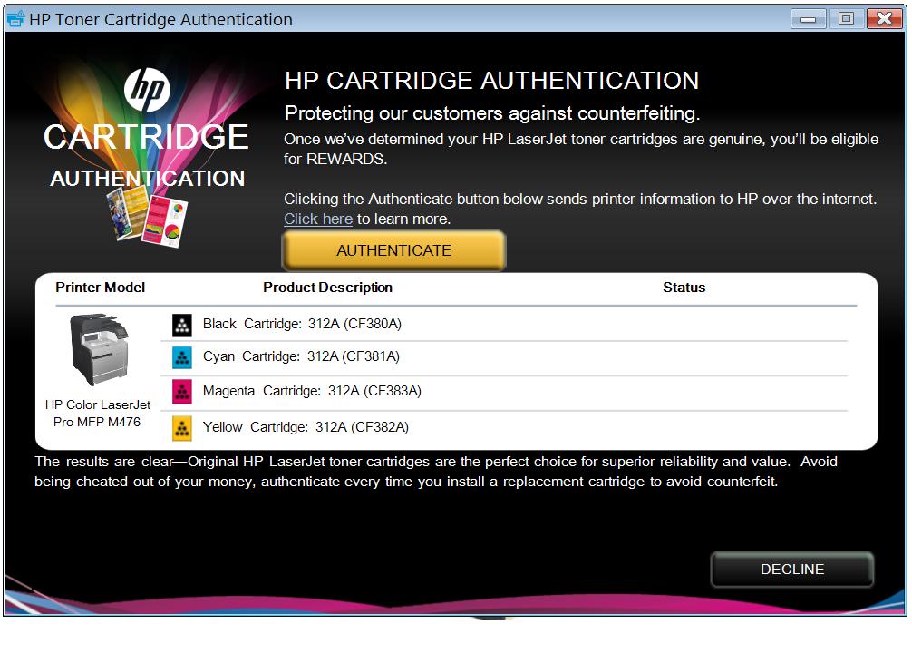 How To Override Hp Ink Cartridge Error