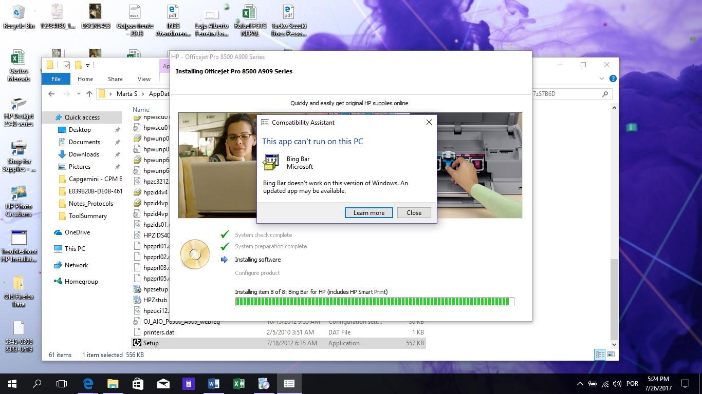 HP 2540 printer USB & Wifi driver installation problems ...