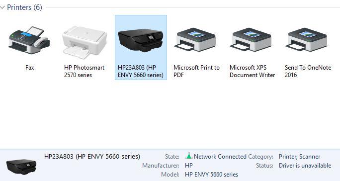 Hp envy 5660 printer driver download hp