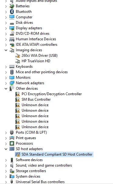 260Ci Wia Driver Windows 10