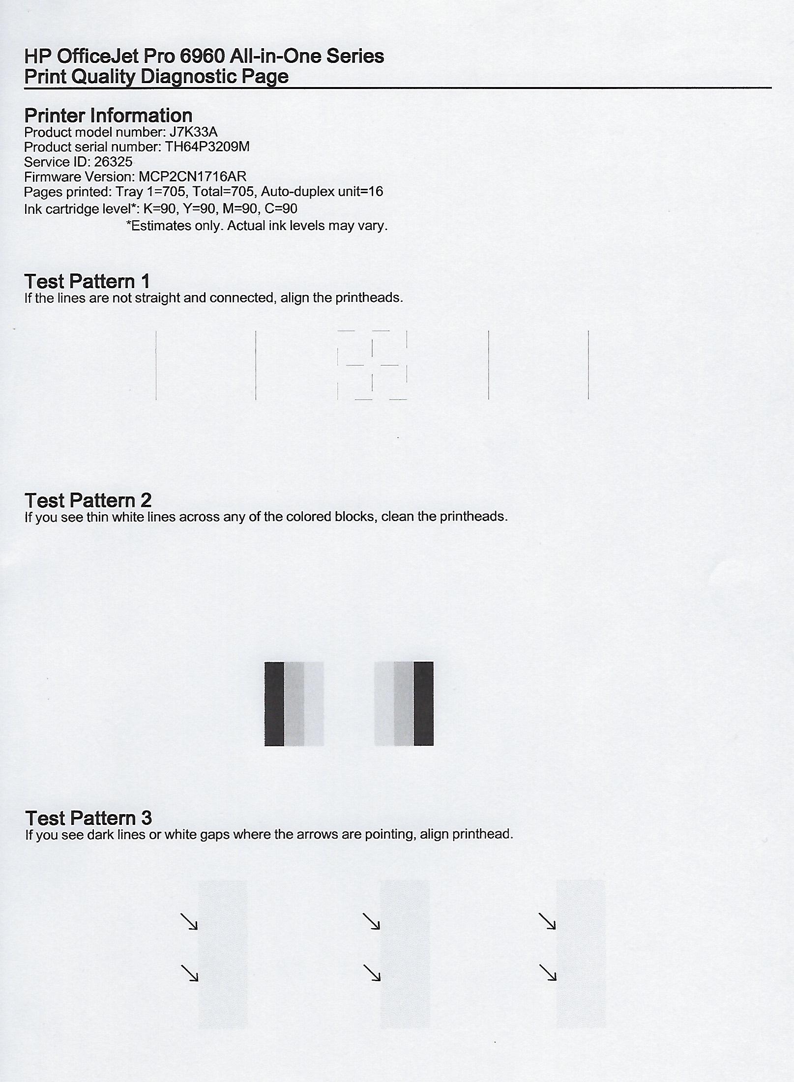 Printer not printing color hp - Scanned Image4 Jpg