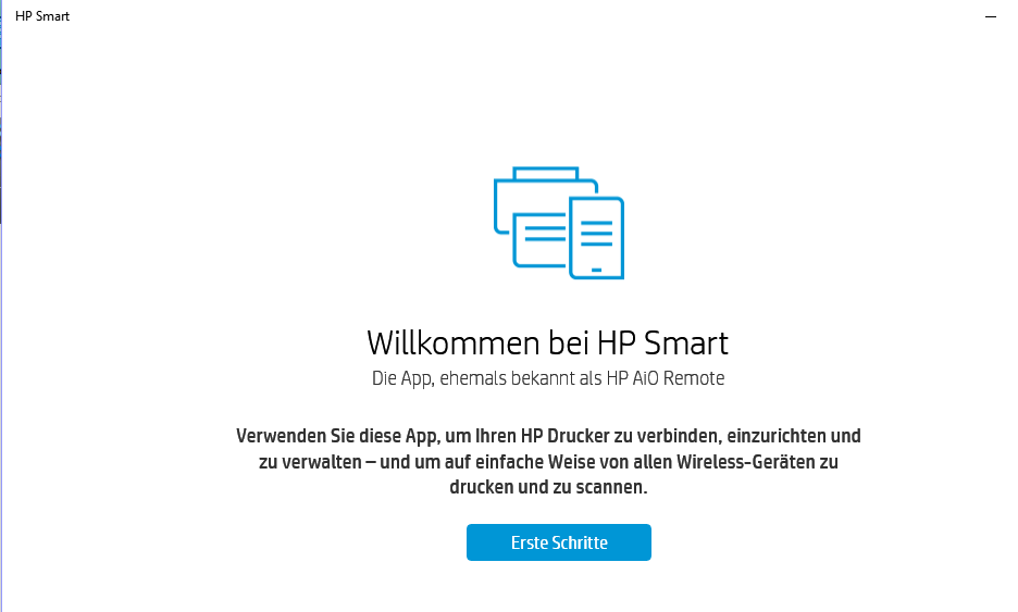 Solved: HP Smart app is all in German - how do I get the English ver