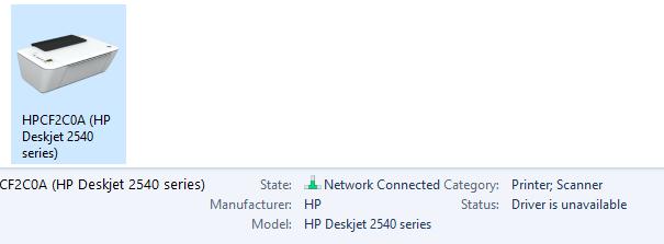 hp deskjet 2547 driver windows 10