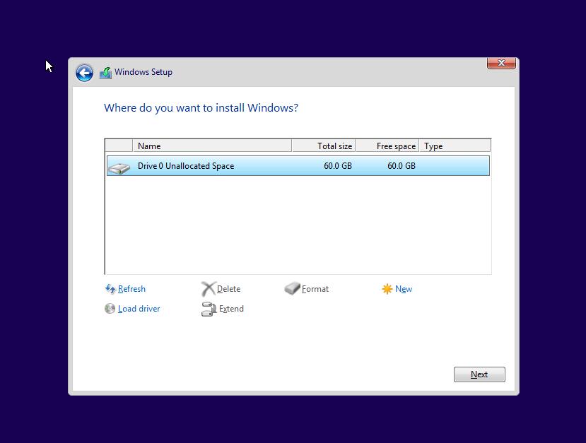 install windows 7 from usb hp