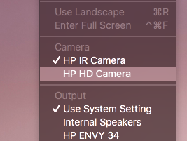 Solved: Request Mac OS Drivers for imbedded webcam on HP