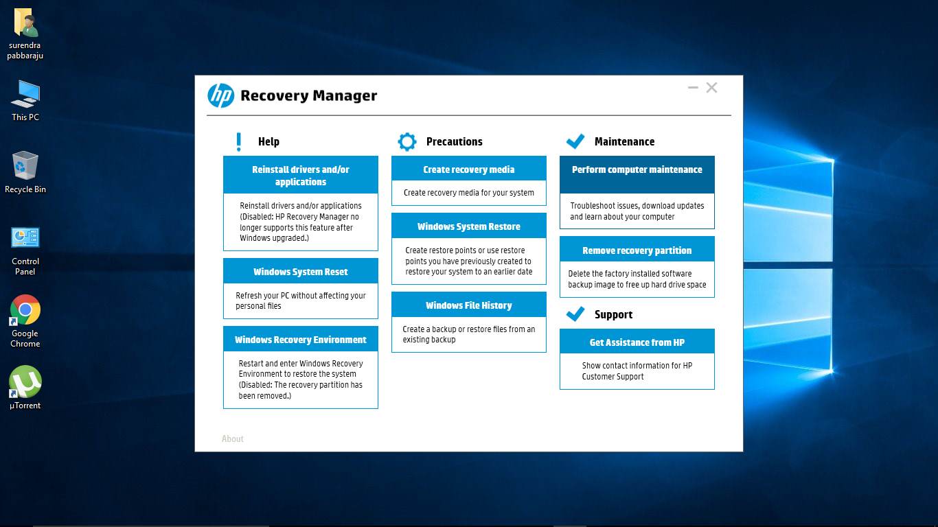 HP Backup and Recovery Manager 5.5.2124 Download