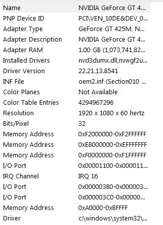 Bad color display after installing K1000M video card - HP
