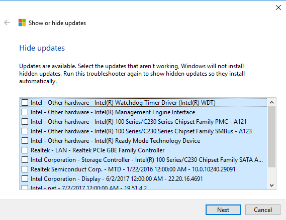 Solved: Uninstall Touch screen driver permanently - HP
