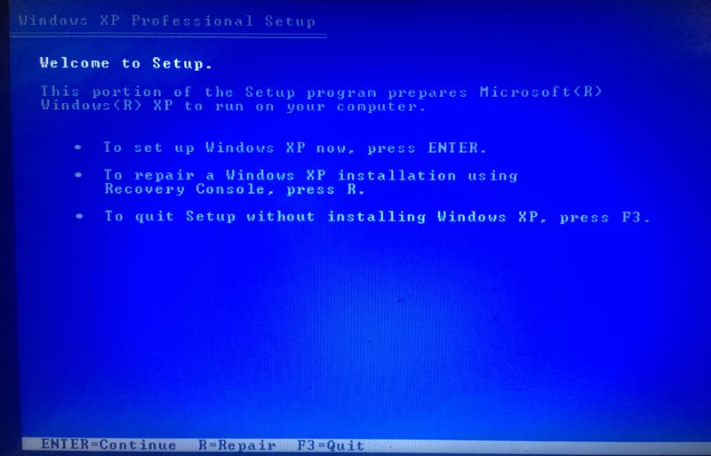 Solved: Win XP install and after first reboot BSOD error
