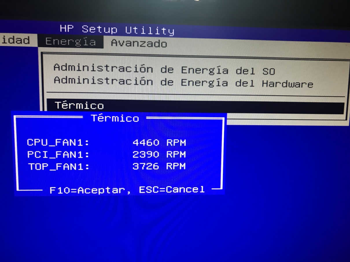 Solved: Extra-Noisy fan in OMEN 880-007ns - HP Support