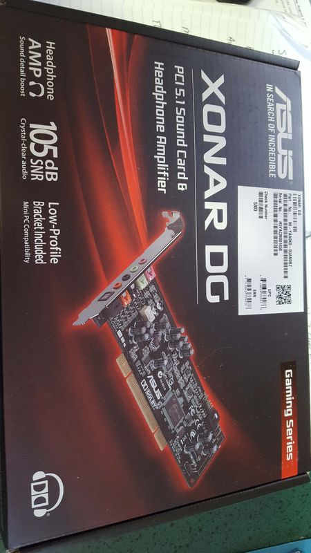 Sound card from Amazon