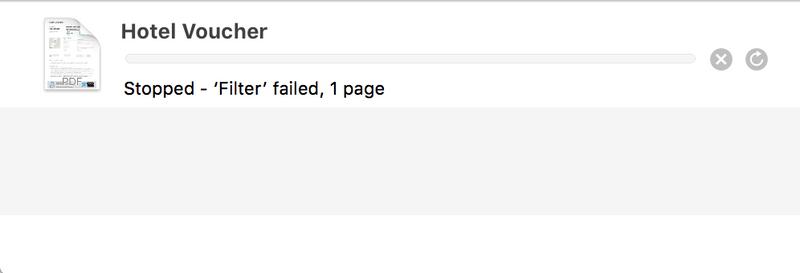 Solved: Printing Pdf - error