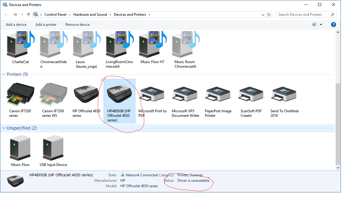 Officejet 4650 won't install - HP Support Community - 6365177