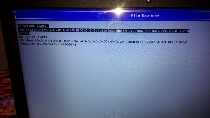 Solved: emergency help on installing windows on GPT HDD