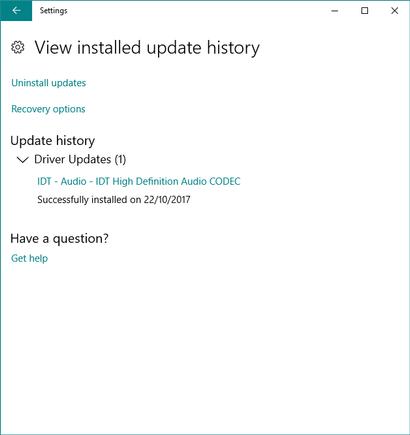 HP ENVY 20-d127c TouchSmart IDT HD Audio Drivers Windows