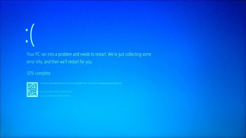 Solved: Unexpected store exception after Sleep - HP Support