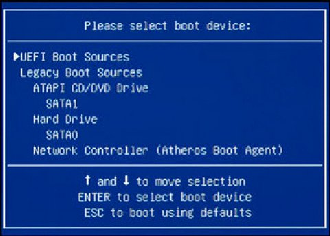 Always Choose Your Boot Device Hp Support Community