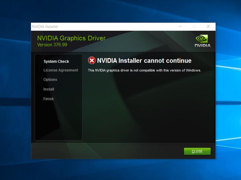 how to install gpu drivers windows 10